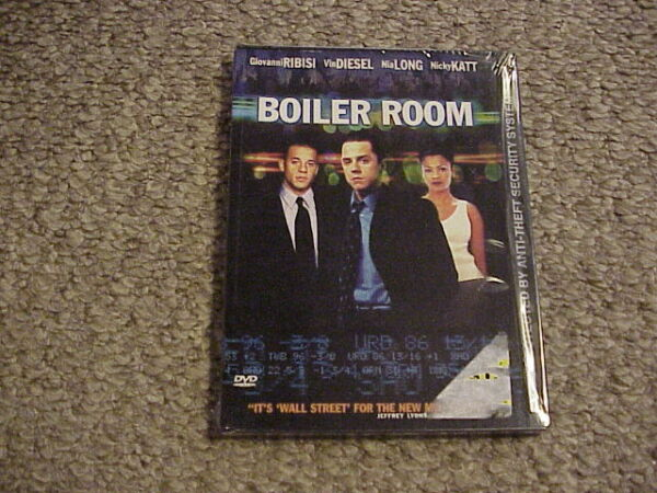 Boiler Room DVD 2000 New Sealed Free Shipping $6.95