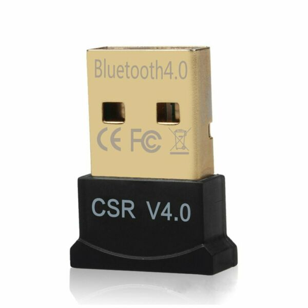 Wireless Bluetooth CSR 4.0 USB Dongle Adapter Receiver for PCs laptop Win 10 8 7