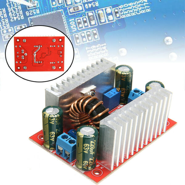 US 24 X 400W DC-DC Step-up Boost Voltage Converter Constant Power Supply Module
