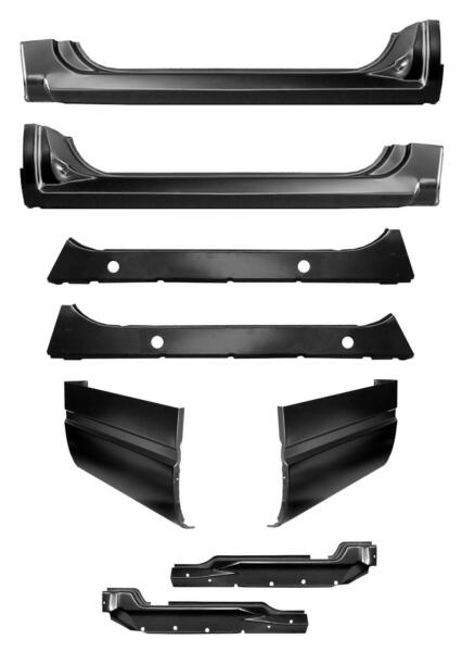 Rocker Panel Extended Cab Corner w Inners Kit for 88-99 Chevy GMC Pickup