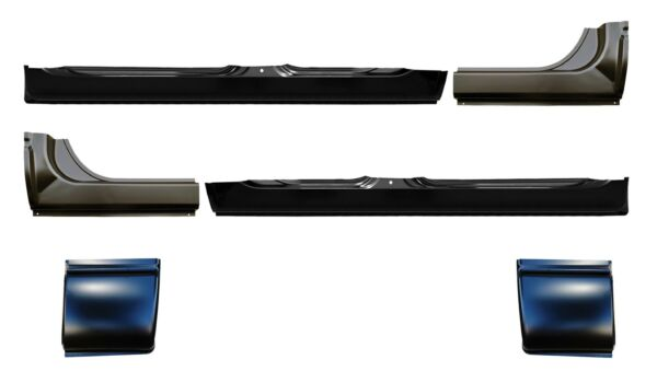 OE Style Rocker Panel with Extention & Cab Corner Kit for 06-09 Ram Mega Cab