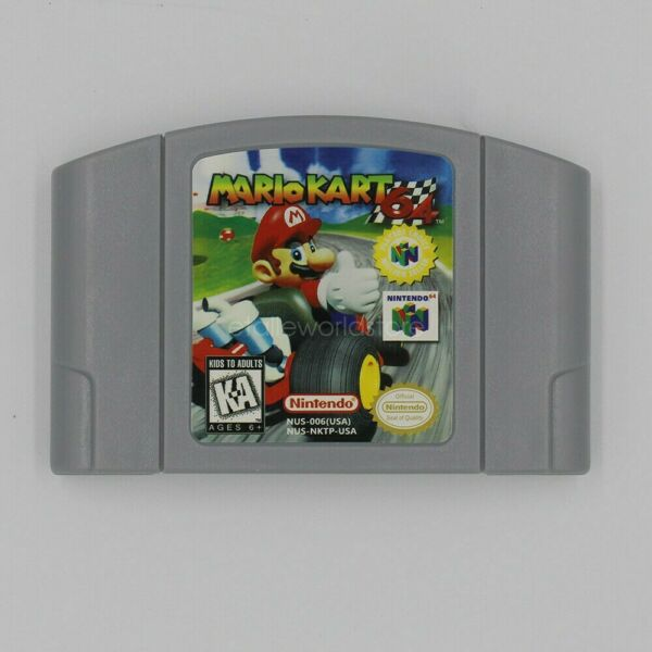 for Mario Kart 64 (Nintendo 64) Video Game BRAND NEW Condition