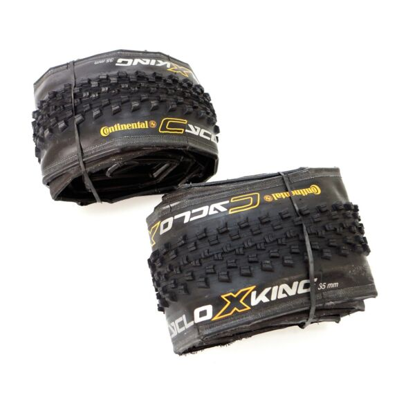 1 or 2 Tire Continental Cyclo X King 700 x 35C Clincher Cyclocross Gravel Bike $30.45
