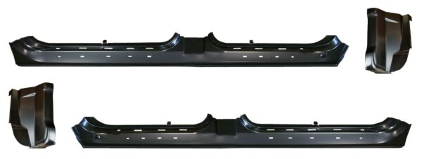 OE Style Rocker Panel & Cab Corner Kit for 99-04 Ford F150 Pickup Crew Cab PAIR
