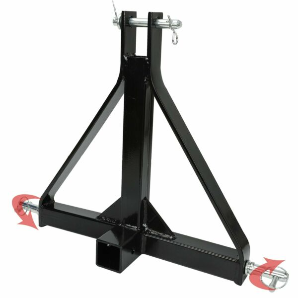 3 Point Trailer Receiver Hitch Tow Drawbar Cat 1 Tractor Thicken Steel Upgrade $65.00