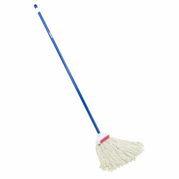 All Purpose Wet String Mop Cotton Commercial Floor Tile Cleaning Wood Handle
