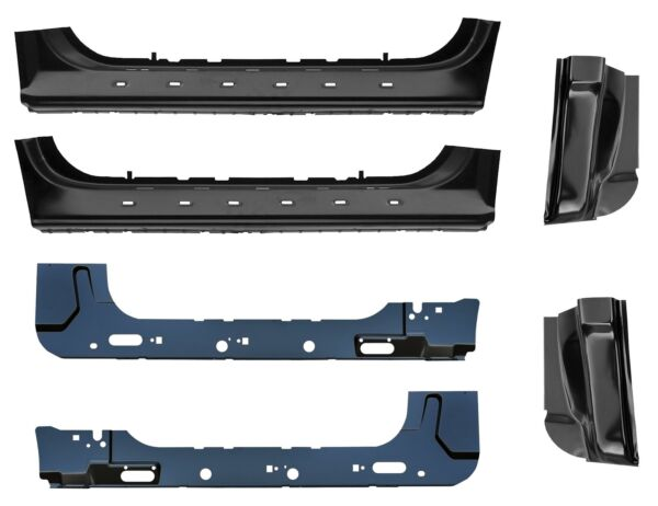 Inner & Outer Rocker panel & Cab Corner Kit 97-03 Ford F150 Standard Cab