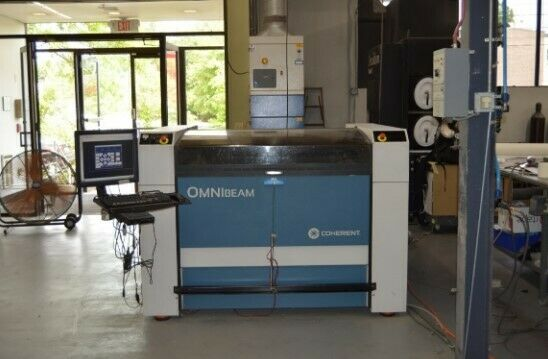 2010 Coherent Omnibeam 500  Fabrication Lasers Ref # 8038953