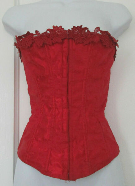 Vintage Corset Bustier with Back Laces Closure by Empire USA
