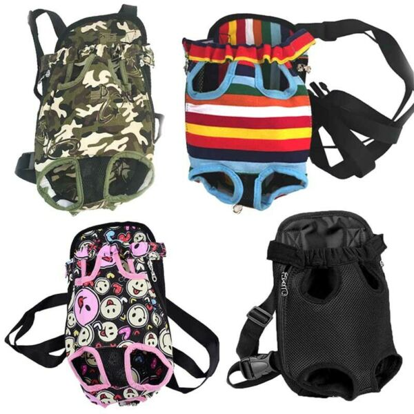 Pet Dog Backpack Carriers Puppy Pouch Cat Front Totes Shoulder Travel Net Bag $9.68