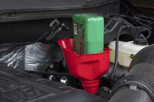 FloToolSuper Quick Fill Funnel GasHome Auto Holds 1 QT. Oil Bottle USA $9.98