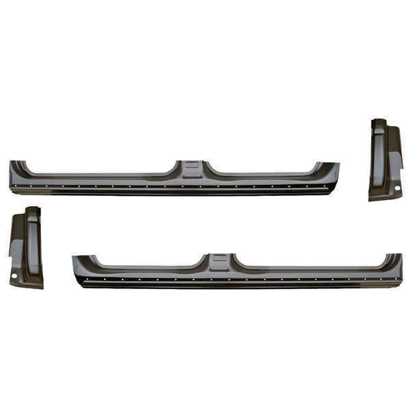 OE Style Rocker Panel & Cab Corner Kit for 09-14 Ford F150 Pickup Crew Cab
