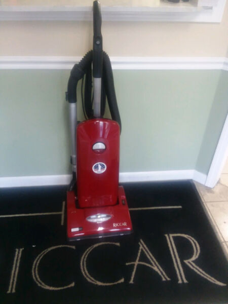 Riccar Ultra Premium Vibrance with 2 Stage Motor R20UP ( RED IN COLOR)