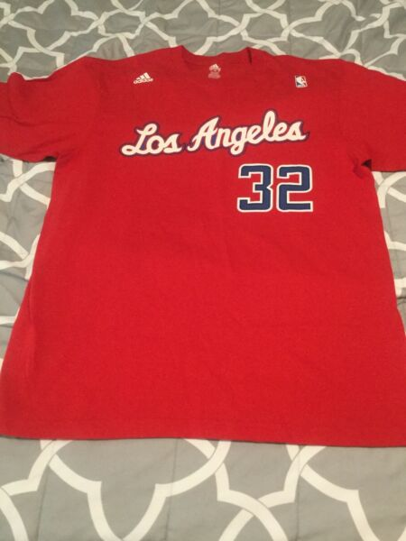 Adidas NBA Los Angeles Clippers Blake Griffin Basketball Player Shirt Sz. Large