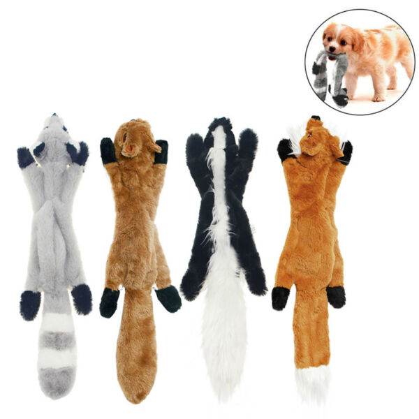 Funny Soft Pet Puppy Dogs Chew Toy Play Squeaker Cute Plush Sound Squeaky $4.35
