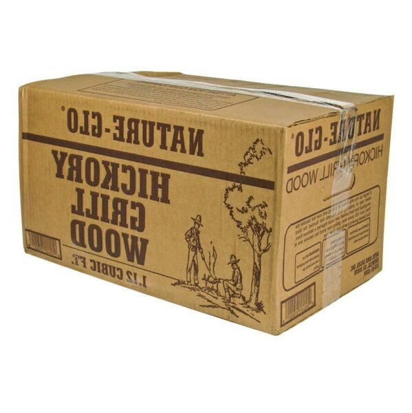 Brown HickoryMesquite 20 Pieces 40.5 Lbs Wood Logs Used in Wood Burning Ovens