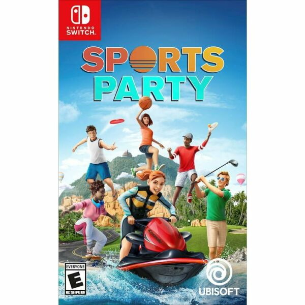 Sports Party for Nintendo Switch - Ubisoft Game - BRAND NEW FACTORY SEALED