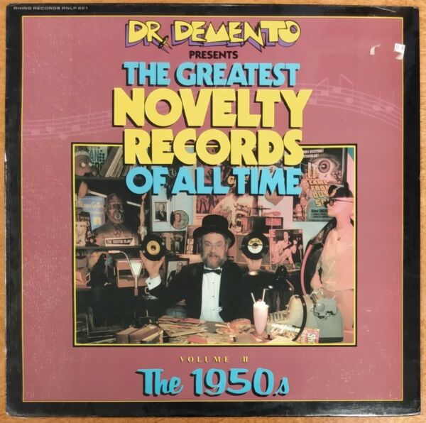 Dr. Demento Greatest Novelty Records of All-Time Vol. II The 50's 1985 SEALED LP