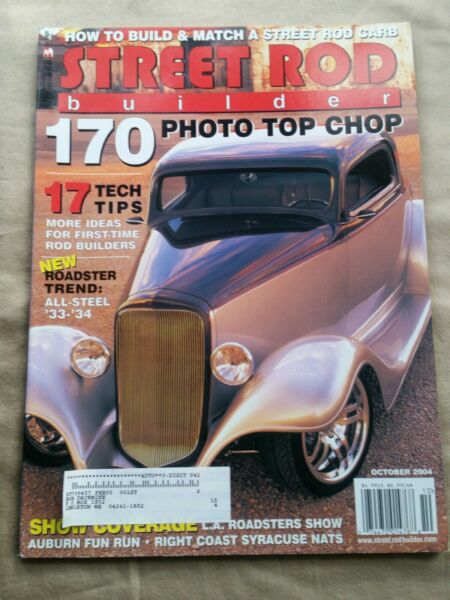 Street Rod Builder Magazine October 2004 how to build and match a carburetor