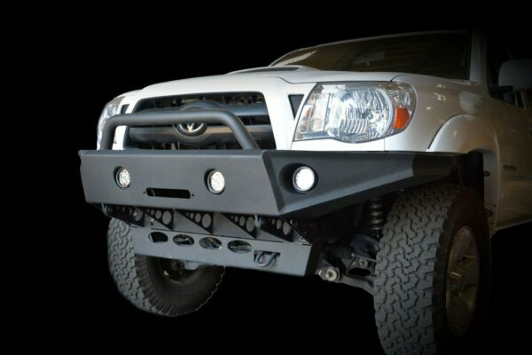 Tacoma 05-15 Front Bumper (All Models) Winch Ready LED Ready Offroad Steel