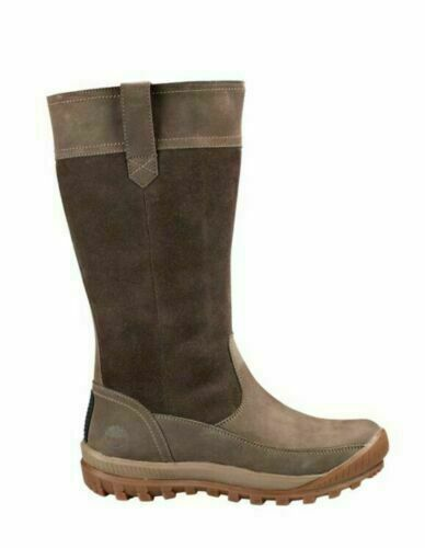 Timberland Women#x27;s MT Hayes Dark Brown Pull On Waterproof Snow Boots A23B3 $89.59