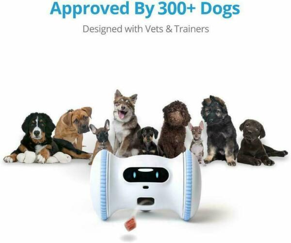 Varram Pet Fitness Robot Full Package: Treat Tossing Schedule Automatic Drives $100.93