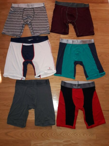 Tommy John Second Skin Boxer Brief Long. Choose SizeColor
