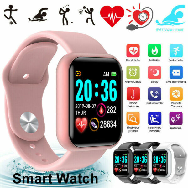Waterproof Bluetooth Smart Watch Phone Mate For iphone IOS Android Samsung LG B* $11.98