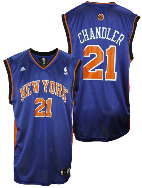 Adidas NBA Basketball Men New York Knicks Wilson Chandler #21 Replica Jersey