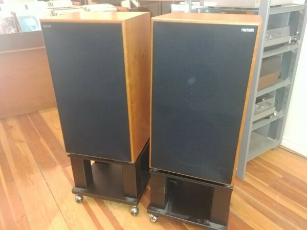 Harbeth M40.1 Professional Monitor Loudspeaker Pair - With Boxes