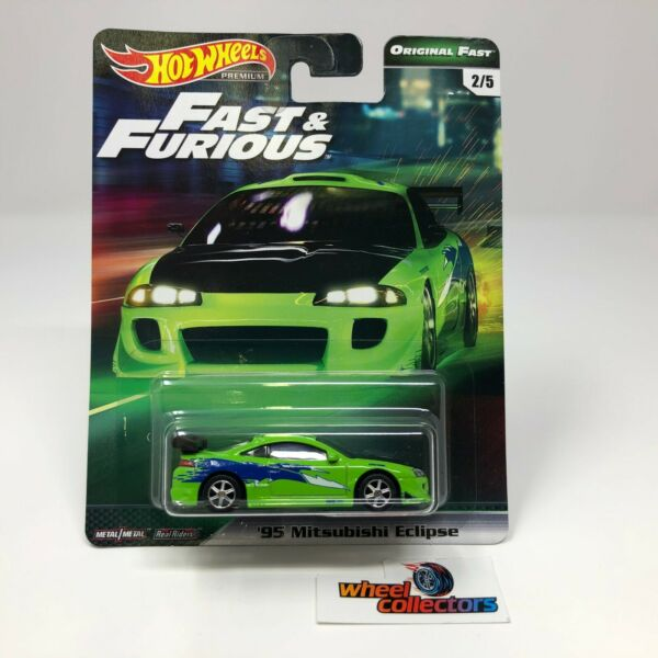 SALE!  '95 Mitsubishi Eclipse * Hot Wheels Fast & Furious Original Fast * HH39