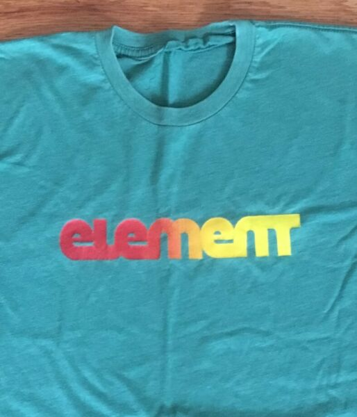 Vintage Element Skateboard T Tee Shirt Size Small