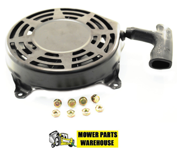 BRIGGS & STRATTON PULL STARTER RECOIL ASSEMBLY 497680 W BOLTS FITS