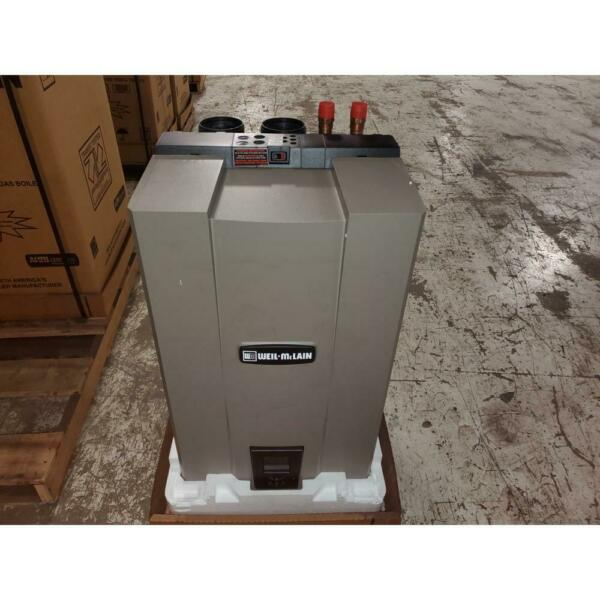 WEIL MCLAIN WM97110 CT 110000 BTU WALL MOUNT NATURAL GAS HOT WATER BOILER 95% $3384.00