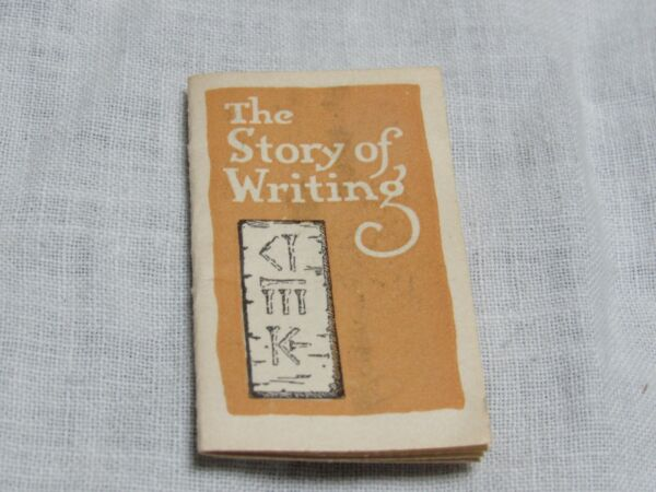 Vintage Esterbrook Pen Mini Booklet Ad The Story of Writing