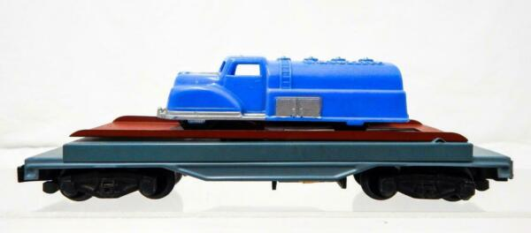 American Flyer 915 Gray base Automatic Auto unloading car Renwal Gas Tank truck $95.00