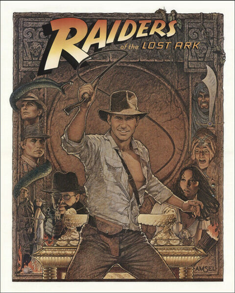 RAIDERS OF THE LOST ARK Indiana Jones 8x10 Photo Print Poster Harrison Ford