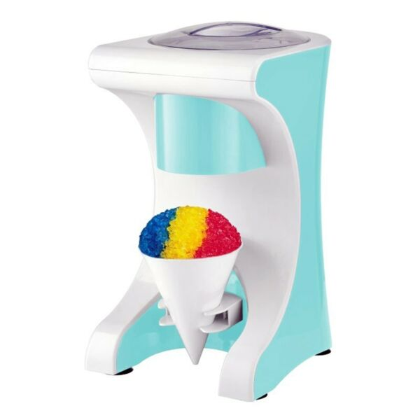 Brentwood Appliances Blue Snow Cone Maker w Shaved Ice Machine