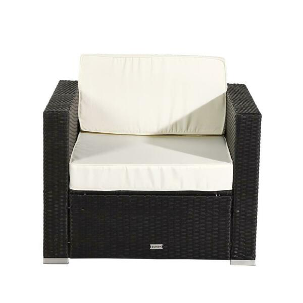 Outdoor Furniture 1PC Armchair Rattan Chair Patio Seat Wicker 33.5 x 29.5 x 25quot; $168.99