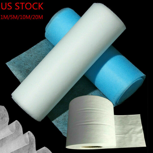 SMS Melt blown Nonwoven Fabric DIY Face Craft Fusible Interlining Filter 5 20M