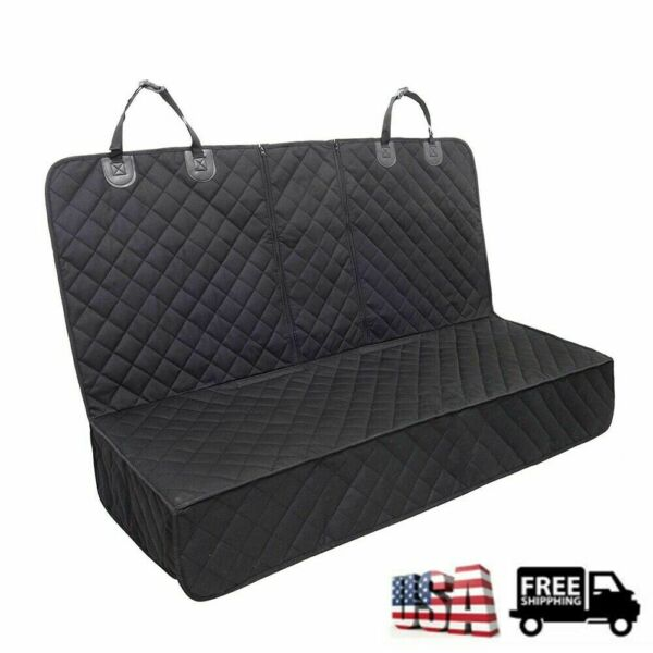 Pet Car Seat Cover Waterproof for Dog Cat Back Bench Seat Armrest Compatible $20.99