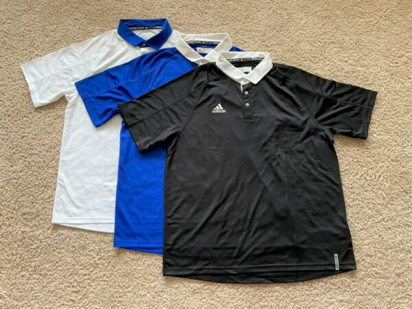 Adidas Climachill performance golf polo shirt