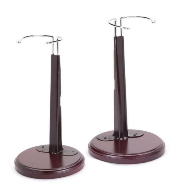 Set of Two Expandable Doll Stands Fit 18 to 20 In Dolls Fit American Girl Dolls