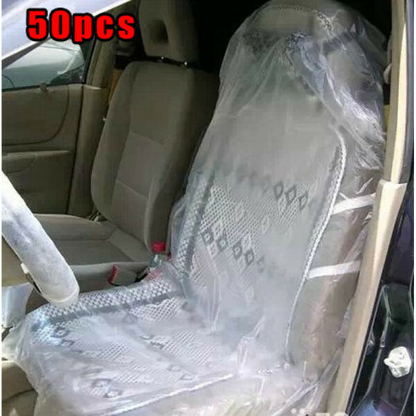Covers Disposable Seat Cushions Disposable Seat Covers 50Pk Car Seat Protection $21.76