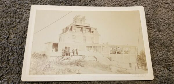 Antique ORIGINAL LAKE GEORGE NEW YORK PROSPECT MOUNTAIN HOUSE PHOTO