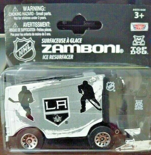 TOP DOG NHL 2014 15 LA KINGS 1:50 Scale Zamboni NEW FREE SHIP $9.99