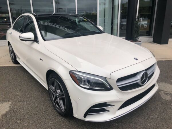 2020 Mercedes-Benz C-Class C 43 AMG® designo Diamond White Metallic Mercedes-Benz C-Class with 47 Miles available now