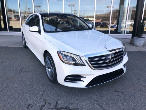 2020 Mercedes-Benz S-Class S 560 designo Diamond White Metallic Mercedes-Benz S-Class with 6 Miles available now!