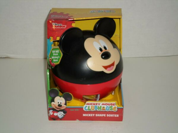Disney Junior Mickey Mouse Clubhouse Shape Sorter NEW Super Cute