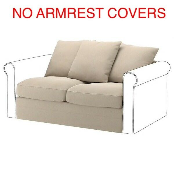 Ikea COVER SLIPCOVER FOR GRONLID 2 Seat Section Sporda Natural 003.986.46 $59.25